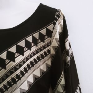 Almost Famous black and white tunic.
